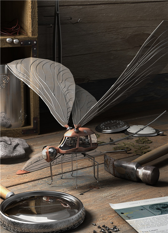青岛海大动漫校区学员刘天扬次世代模型设计作品