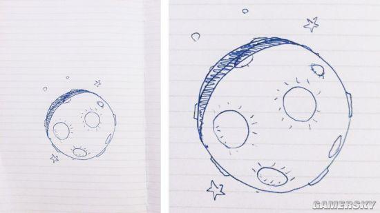 《超越善恶2》开发团队的Michel Ancel画了个大大的月亮.jpg