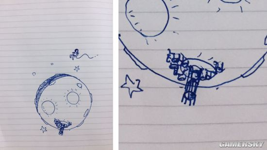 11 Bit工作室的Jakub Stokalski在月亮上画了一个基地.jpg
