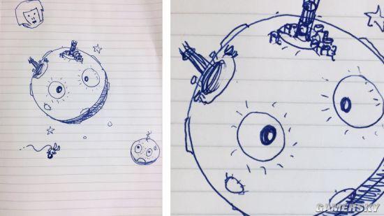 《战争机器》之父Cliff Bleszinski给月亮加了一双又大又萌的眼睛.jpg
