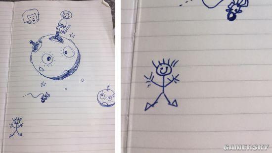 曾参与过育碧《刺客信条》系列工作的编剧Corey May画出了最简陋的小人.jpg