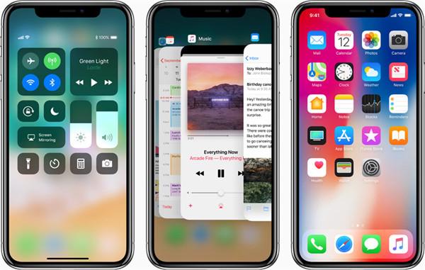 iPhone X是Apple今年秋季推出的最新手机之一!带来了全面屏新设计.jpg