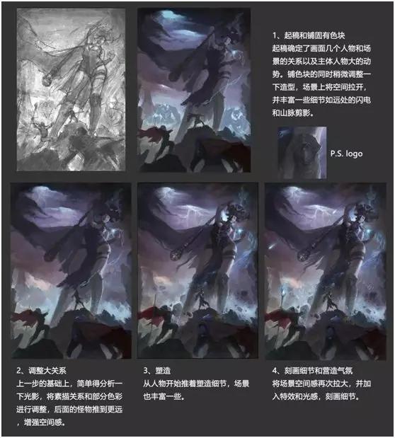 GGAC三等奖作品《决战梦魇女王》创作过程2.jpg
