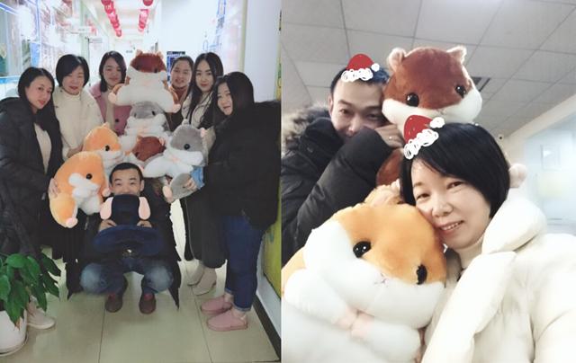 汇众教育圣诞节:学员送了最微暖的礼物给老师.jpg