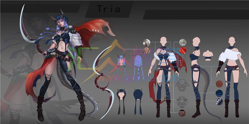 《Tria》