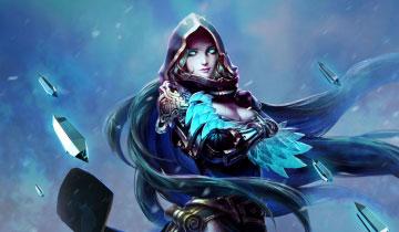 原画大咖:大墨老师笔下的北欧女神