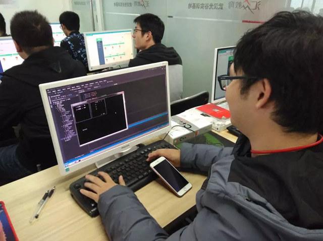 汇众教育武汉光谷游戏软件校区:好好学习 天天向上.jpg