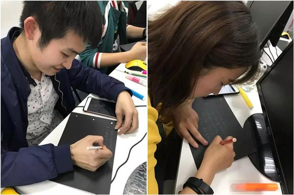 汇众教育北三环校区UI班:将不舍与感激全都写进日记.jpg