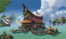 《水上小屋》