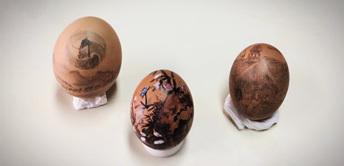 """不一样的端午节:汇众学员""""蛋壳上的动漫"""""""