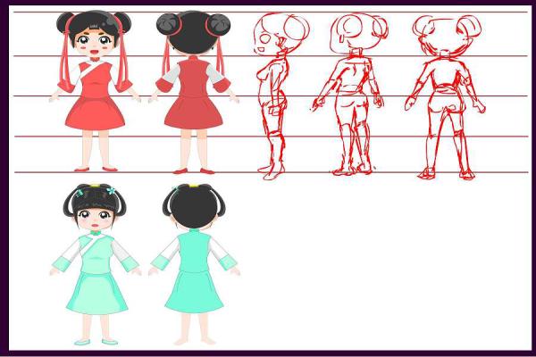 手绘二维动画课程