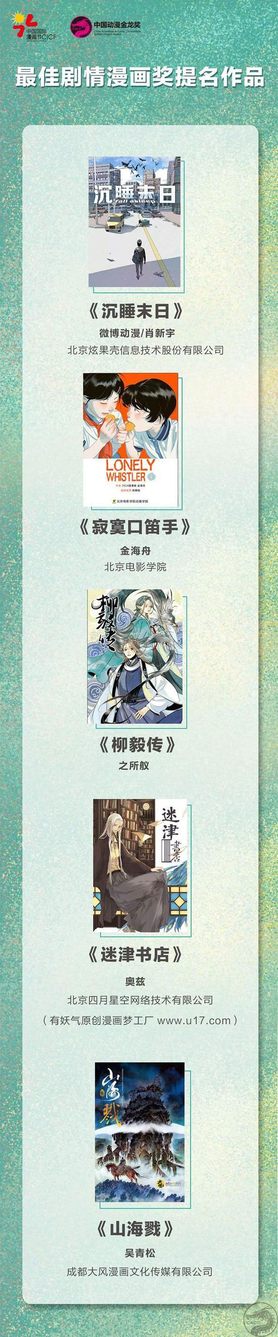 中国动漫金龙奖(CACC)最佳剧情漫画奖提名作品.jpg