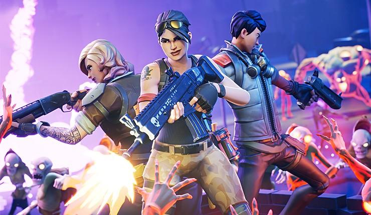 Epic Games 手游《堡垒之夜》.jpg