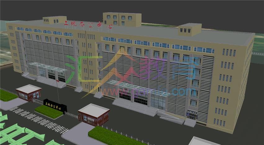 《上地办公中心BIM项目外景2》