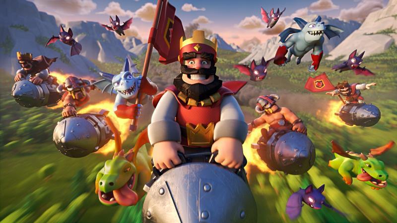 Supercell公司热门手游《皇室战争》《部落冲突》.jpg
