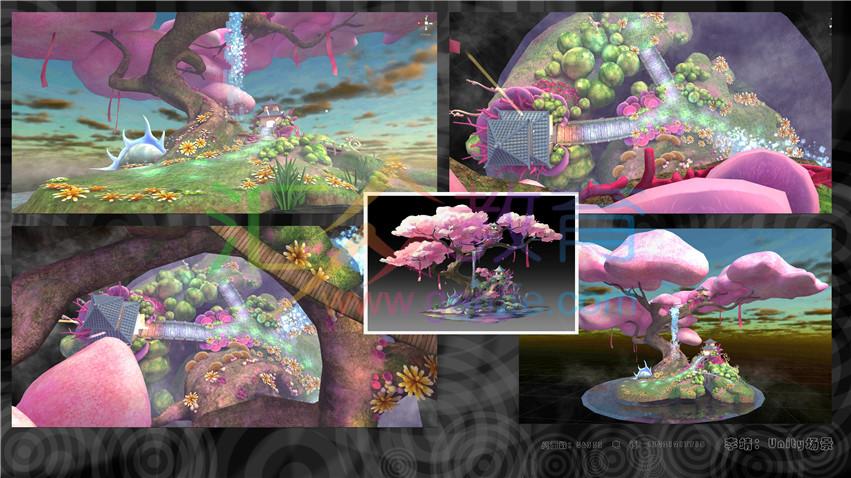 《游戏景观渲染》