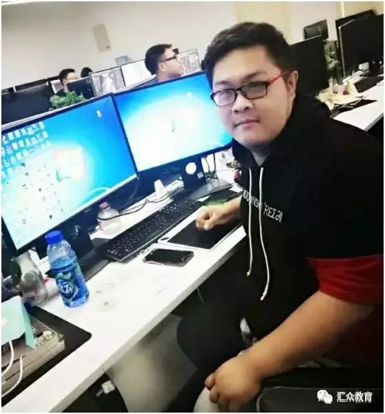 汇众教育明星学员——王tian丰,曾经辍学、打架、混网吧,现在做游戏模型师,月薪过万.jpg